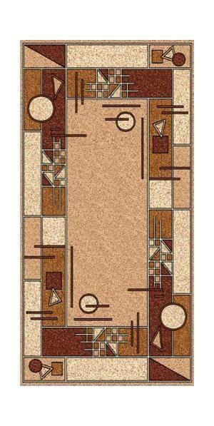 Люберецкие ковры Ковер Золушка 042-01 0.6x1.1 м.