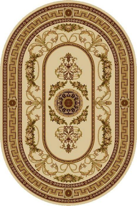 Ковер шерстяной Floare ELITA 252-1150 ОВАЛ 1.2x1.8 м. FLOARE-CARPET