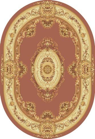 Ковер шерстяной Floare BUSHE 210-3281 ОВАЛ 1.5x2.25 м. FLOARE-CARPET