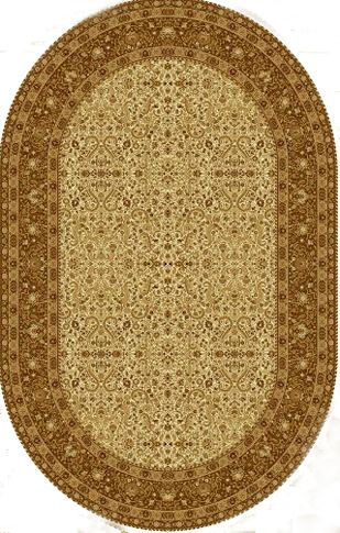 Ковер шерстяной Floare MAGIC 287-1149 ОВАЛ 1.5x2.25 м. FLOARE-CARPET
