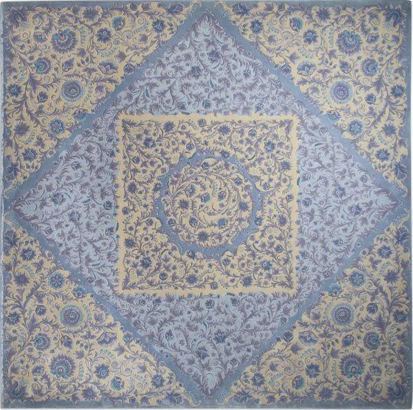 Home and House Carpet Atelier Авторский ковер ручной работы C6S003 2.85x2.85 м.