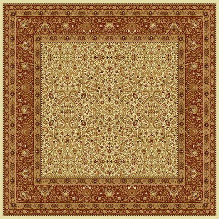 Ковер шерстяной Floare MAGIC 287-1659 КВАДРАТ 2x2 м. FLOARE-CARPET