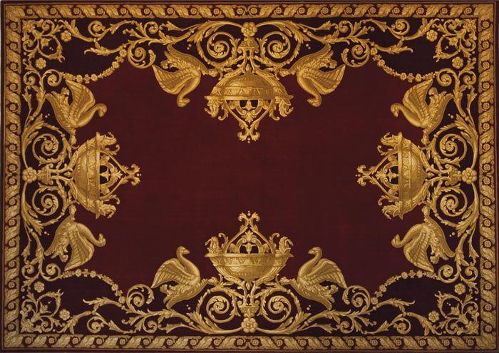 Home and House Carpet Atelier Авторский ковер ручной работы P98 2.4x3.4 м.