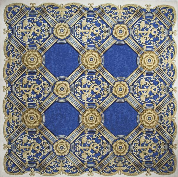 Home and House Carpet Atelier Авторский ковер ручной работы C3S001 2.85x2.85 м.