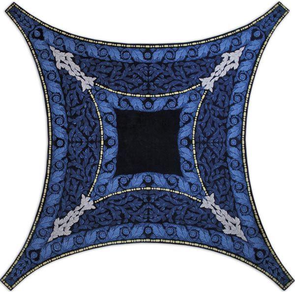 Home and House Carpet Atelier Авторский ковер ручной работы C2WF001 2.95x2.95 м.