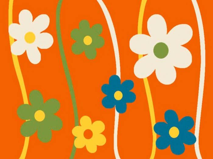 ������� ����� ������� 1021 orange 2x4 �. MERINOS