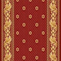 Ковровая дорожка полушерстяная SIDNEY ROSE 1x4.5 м. Витебские ковры