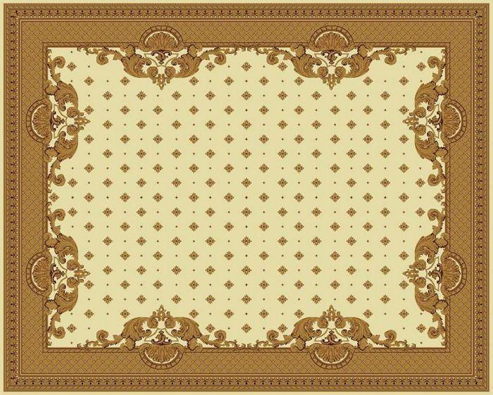 Ковер шерстяной Floare VERSAILLE 017-1148 1.5x2.3 м. FLOARE-CARPET
