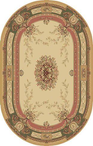 Ковер шерстяной Floare SOIR 151-1567 ОВАЛ 1.5x2.25 м. FLOARE-CARPET