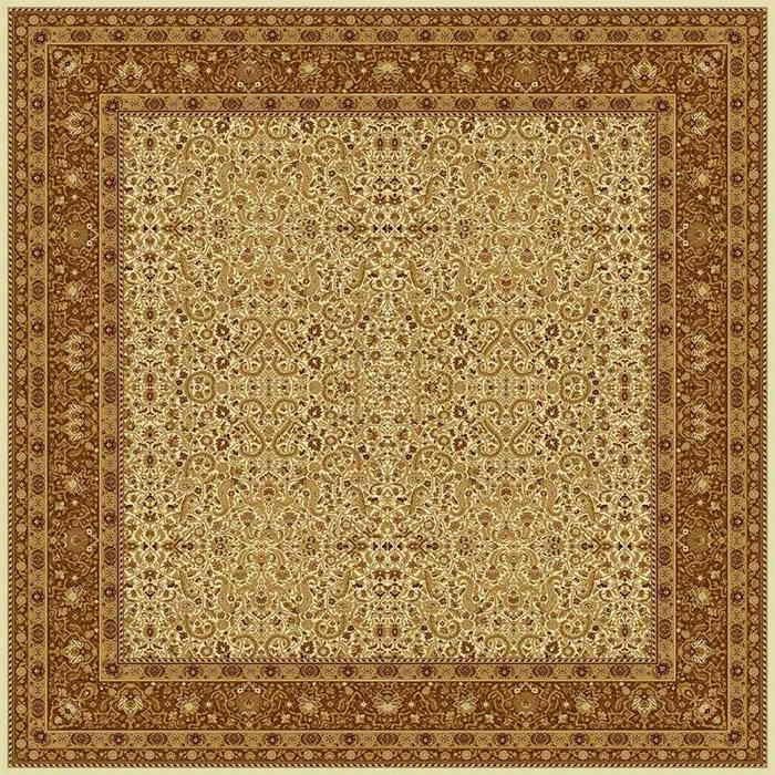Ковер шерстяной Floare MAGIC 287-1149 КВАДРАТ 2x2 м. FLOARE-CARPET