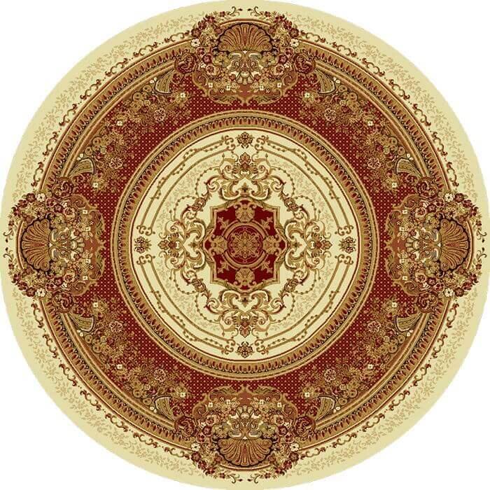 Ковер шерстяной Floare MEDICI 294-1659 КРУГ 2x2 м. FLOARE-CARPET
