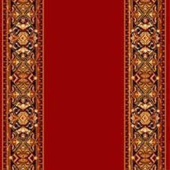 Ковровая дорожка полушерстяная PARLAMENT bordo - гладь 1.25x3 м. Витебские ковры