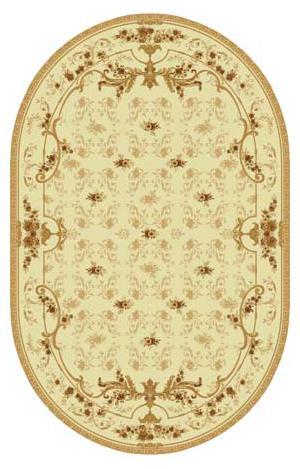 Ковер шерстяной Floare ROCAILLE 315-1149 ОВАЛ 1.5x2.25 м. FLOARE-CARPET
