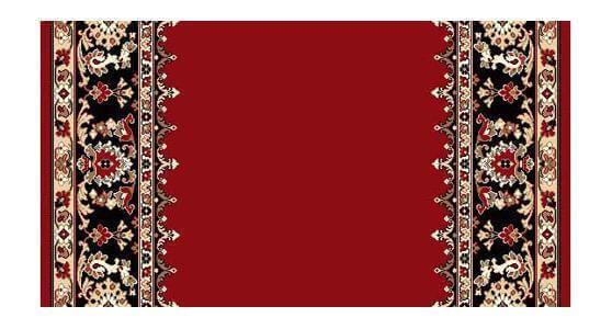 Полушерстяная ковровая дорожка Милана 22-04 1.4x3.8 м. Люберецкие ковры