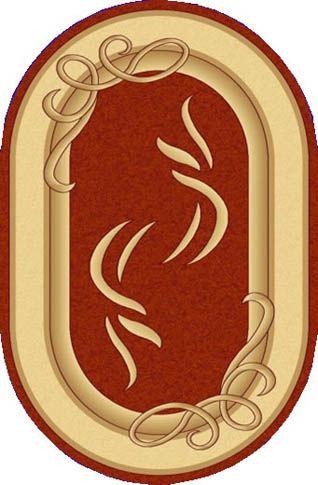 Ковер Азия 30134/овальный/-40 2.5x3.5 м. EFOR Carpet