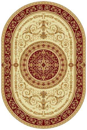 Ковер шерстяной Floare VERONA 321-1659 ОВАЛ 1.5x2.25 м. FLOARE-CARPET