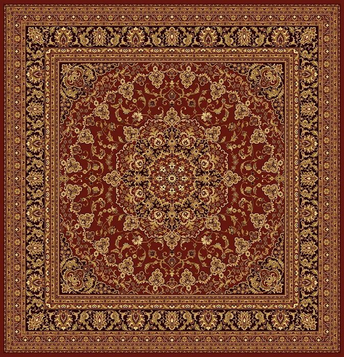 Ковер шерстяной Floare ISFAHAN 207-63658 КВАДРАТ 2x2 м. FLOARE-CARPET