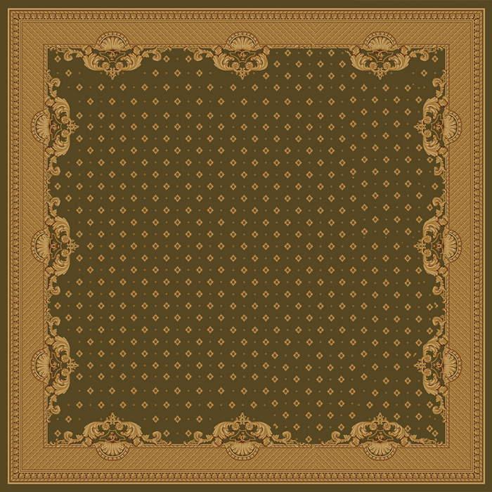 Ковер шерстяной Floare VERSAILLE 017-5542 КВАДРАТ 1.9x1.9 м. FLOARE-CARPET