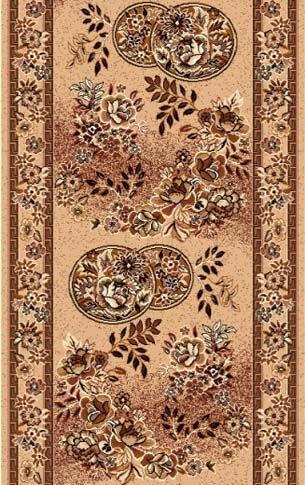 Ковровая дорожка Золушка 011-01 0.8x30 м. Люберецкие ковры