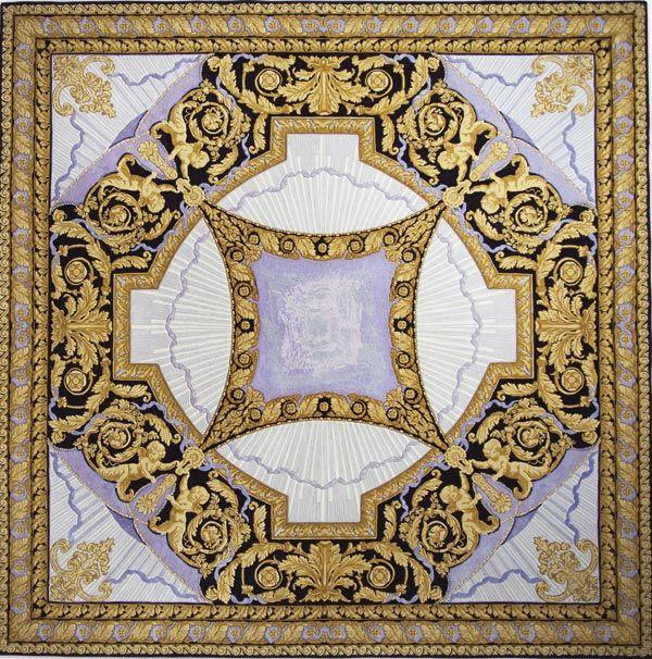 Home and House Carpet Atelier Авторский ковер ручной работы C2S003 2.85x2.85 м.