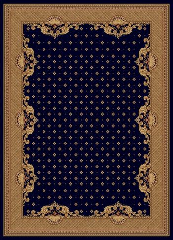 Ковер шерстяной Floare VERSAILLE 017-4146 1.2x2.06 м. FLOARE-CARPET