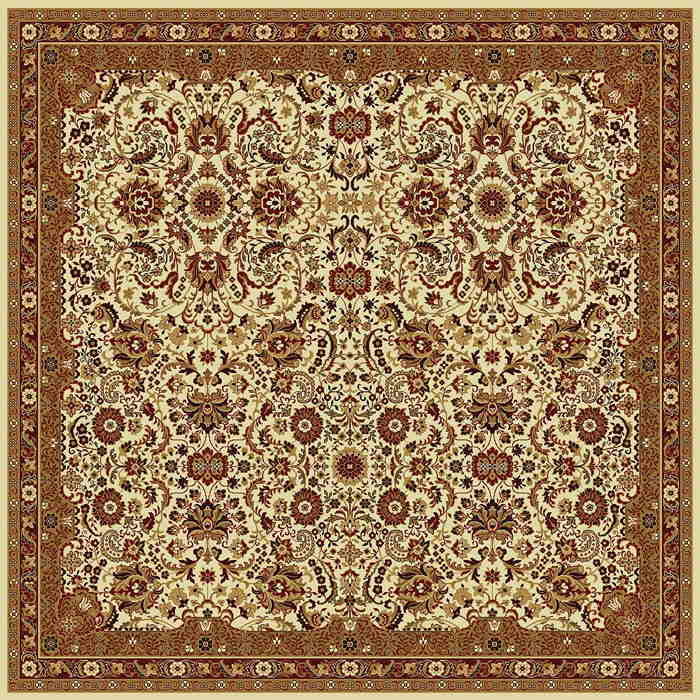 Ковер шерстяной Floare SUMMER 107-1659 КВАДРАТ 2x2 м. FLOARE-CARPET