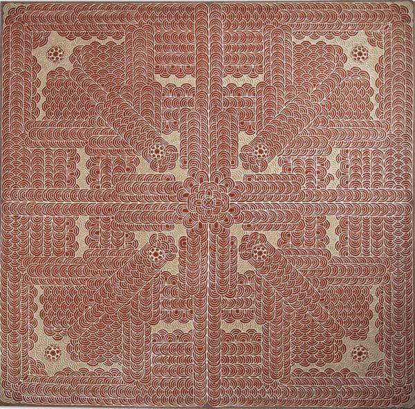 Home and House Carpet Atelier Авторский ковер ручной работы C10S004 2.85x2.85 м.