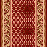 Ковровая дорожка полушерстяная PALACE ROSE 1x4 м. Витебские ковры