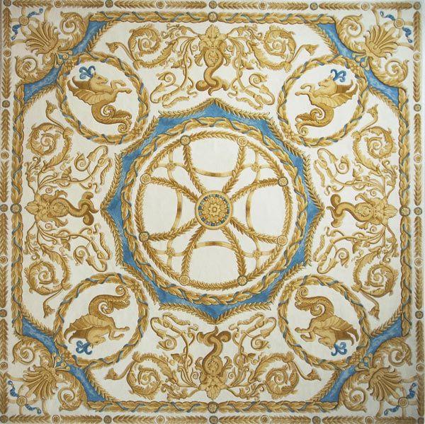 Home and House Carpet Atelier Авторский ковер ручной работы C4S001 2.85x2.85 м.