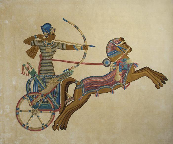 Home and House Carpet Atelier Авторский ковер ручной работы  Egypt 2.5x2.95 м.