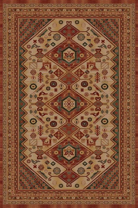 Ковер шерстяной Floare ARARAT 435-0312 1.2x1.8 м. FLOARE-CARPET