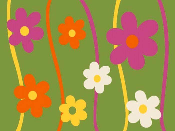Детский ковер Кристэл 1021 green 2x4 м. MERINOS