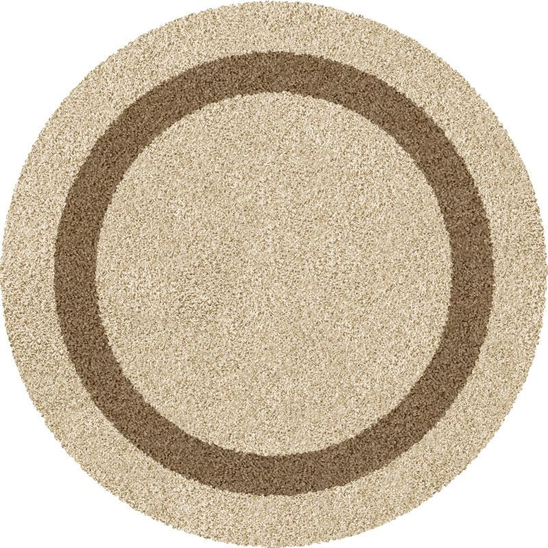 Круглые ковры фото