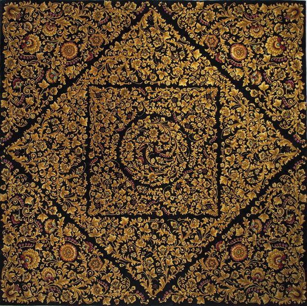 Home and House Carpet Atelier Авторский ковер ручной работы C6S001 2.85x2.85 м.
