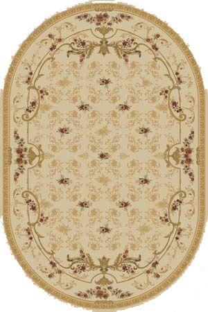 Ковер шерстяной Floare ROCAILLE 315-1126 ОВАЛ 1.5x2.25 м. FLOARE-CARPET