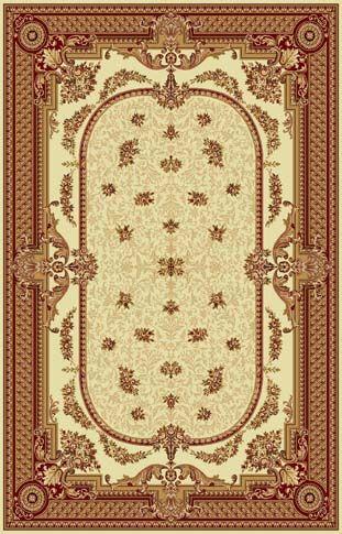 Ковер шерстяной Floare DOFIN 209-1659 1.5x2.3 м. FLOARE-CARPET