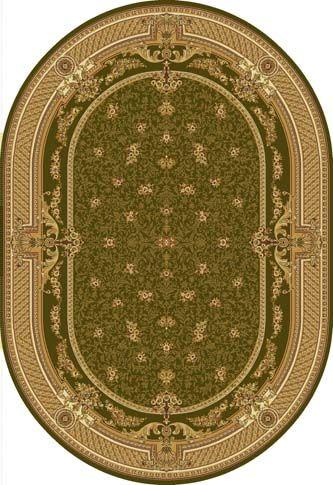 Ковер шерстяной Floare DOFIN 209-5542 ОВАЛ 1.7x2.4 м. FLOARE-CARPET