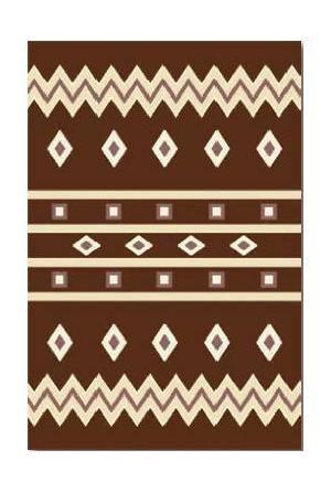 Agnella Ковер фризе TRIPLEX  Marcello dark brown 2x2.8 м.