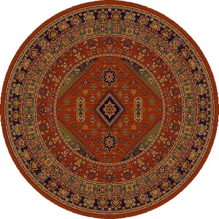 Ковер шерстяной Floare DARIUS 436-60311 КРУГ 1.8x1.8 м. FLOARE-CARPET