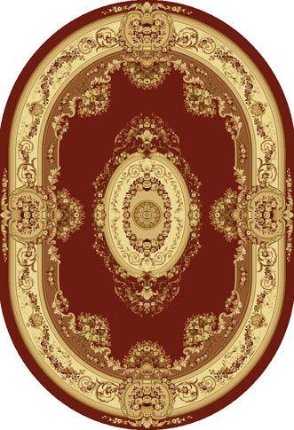 Ковер шерстяной Floare BUSHE 210-3658 ОВАЛ 1.2x1.8 м. FLOARE-CARPET